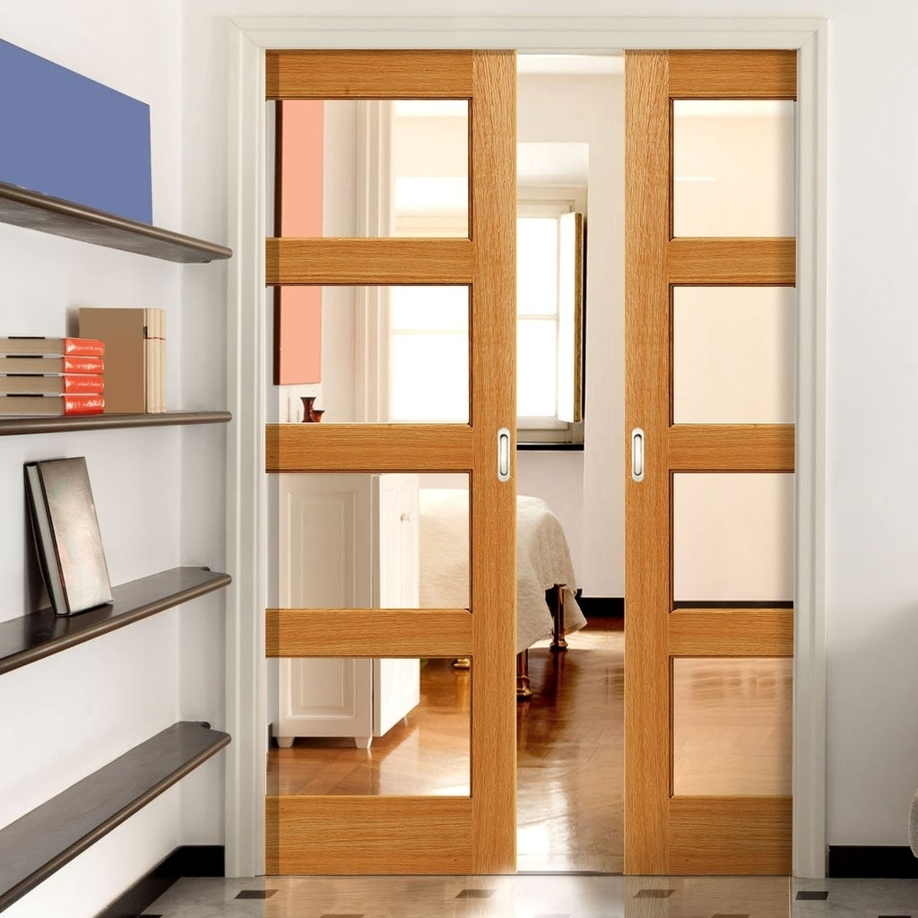 Elegant interior french doors favorite for house owners for Interior sliding french doors