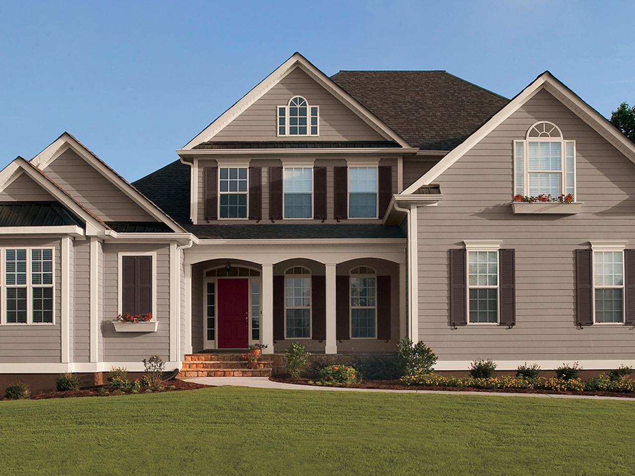 Exterior Paint Colors For Russtic Homes