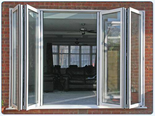 Folding french doors exterior the door that brings the for Interior exterior french doors