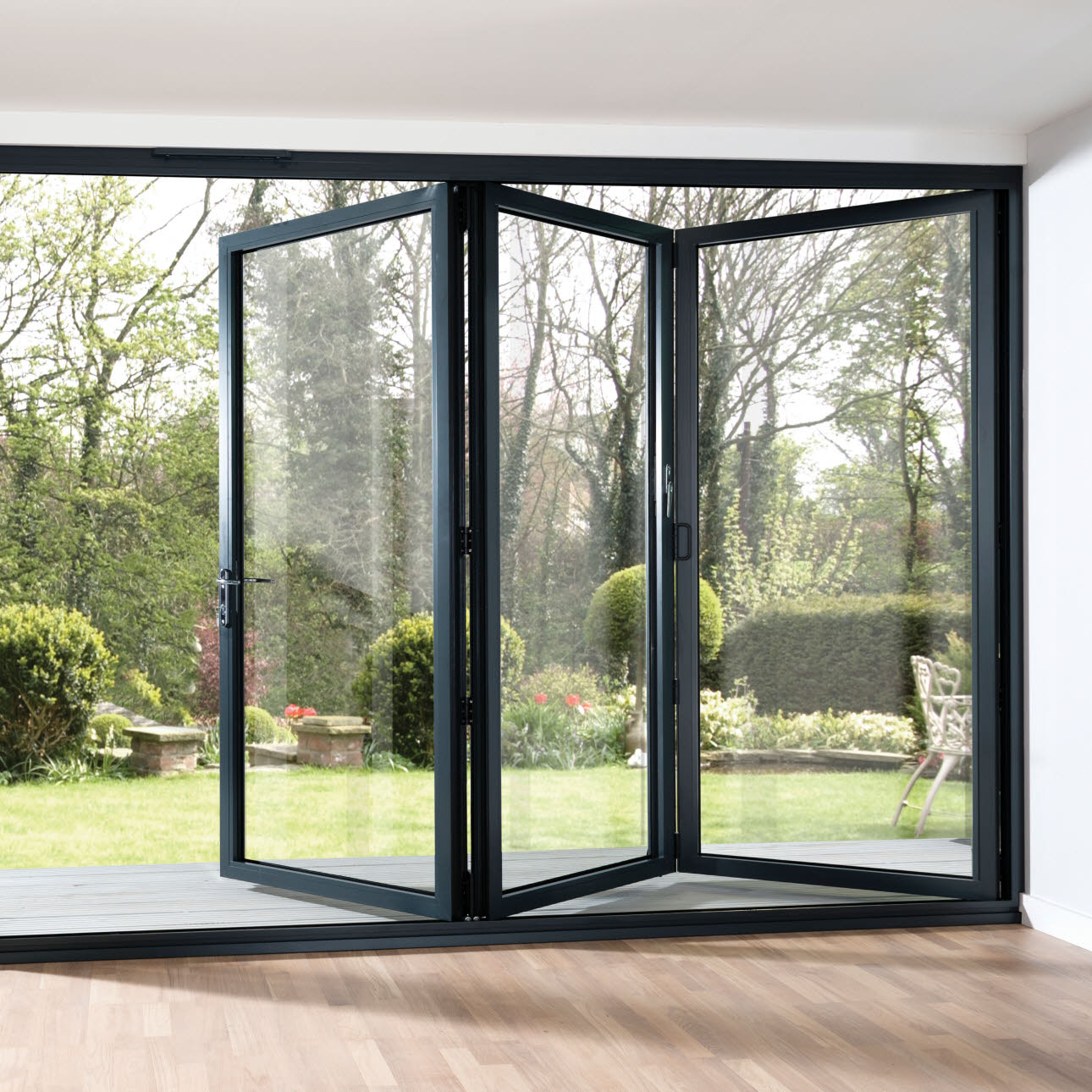 Folding french doors exterior the door that brings the for French door front door