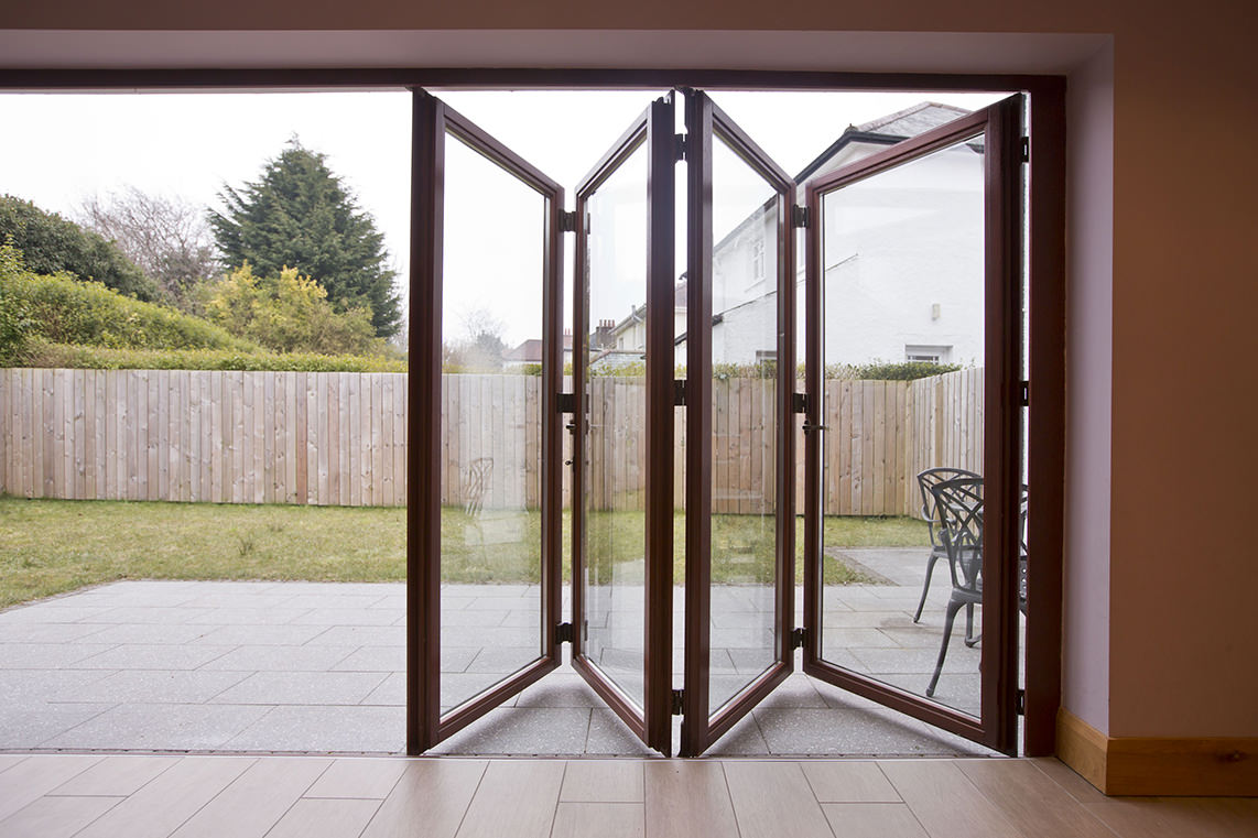Folding french doors exterior - The door that brings the extra ...