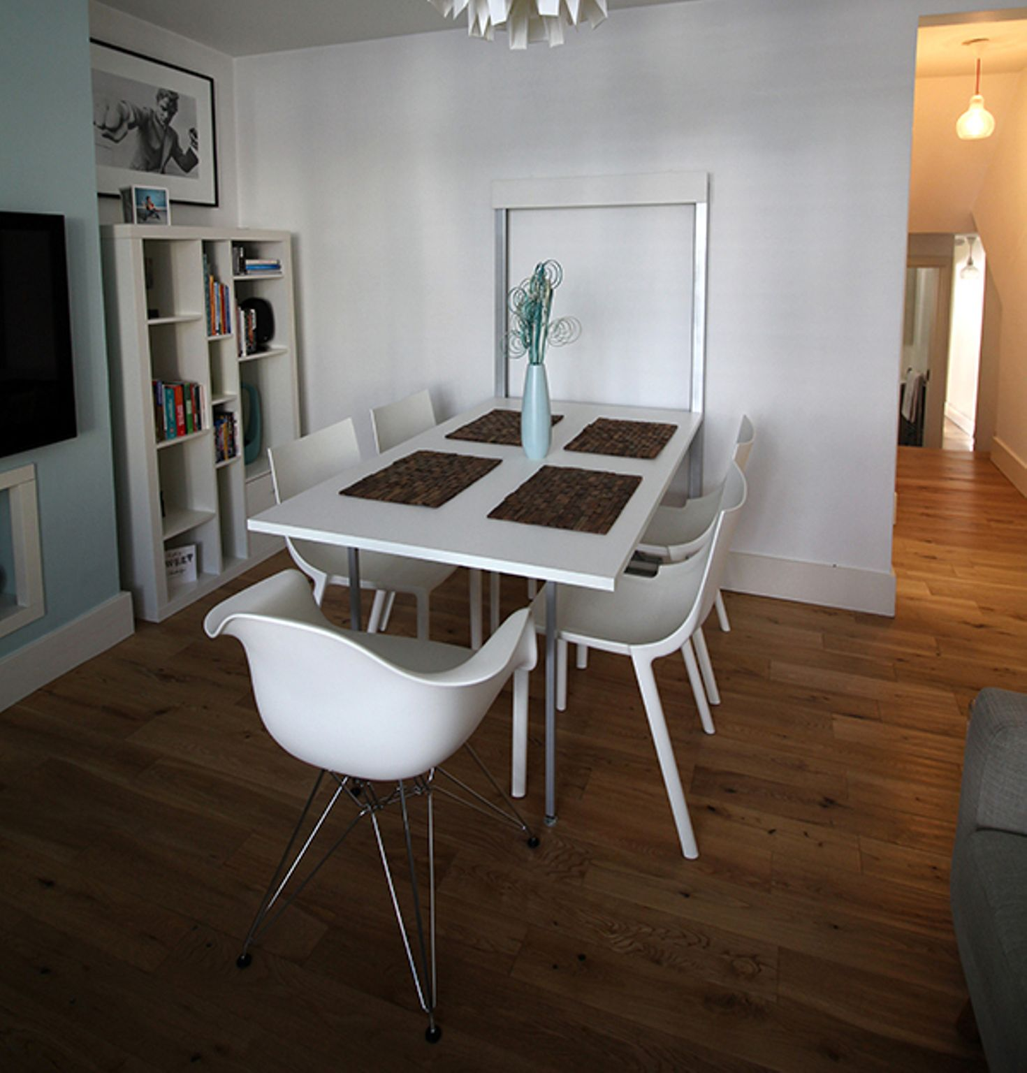 wall kitchen table