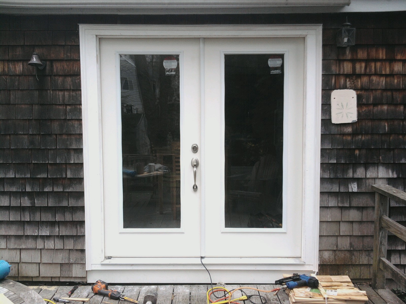 Outward swinging exterior door marvelous out swing for Interior exterior doors