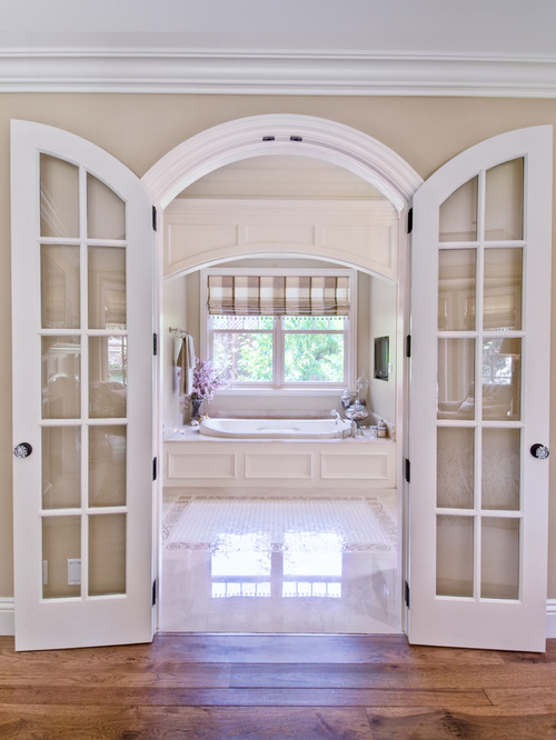 Small french exterior doors for home design ideas for French doors front of house