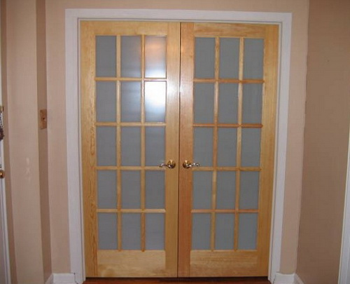 Small french exterior doors for home design ideas for Small entry door