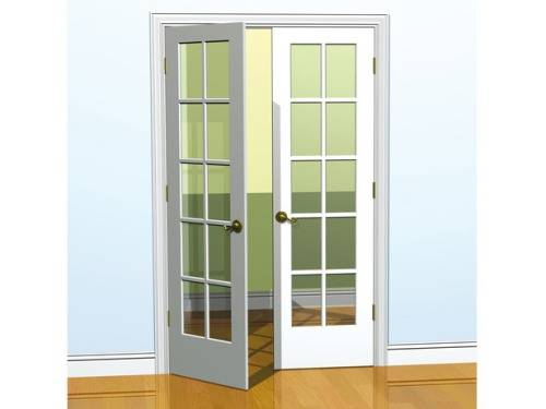 Beautify your home with French doors interior 18 inches