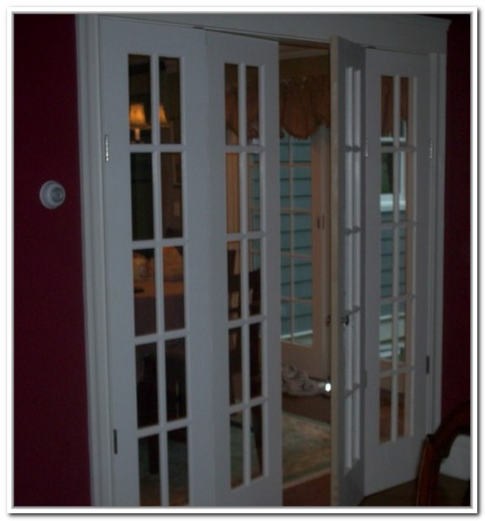 French doors interior bifold give your home the best entrance interior exterior ideas for Folding glass doors exterior cost