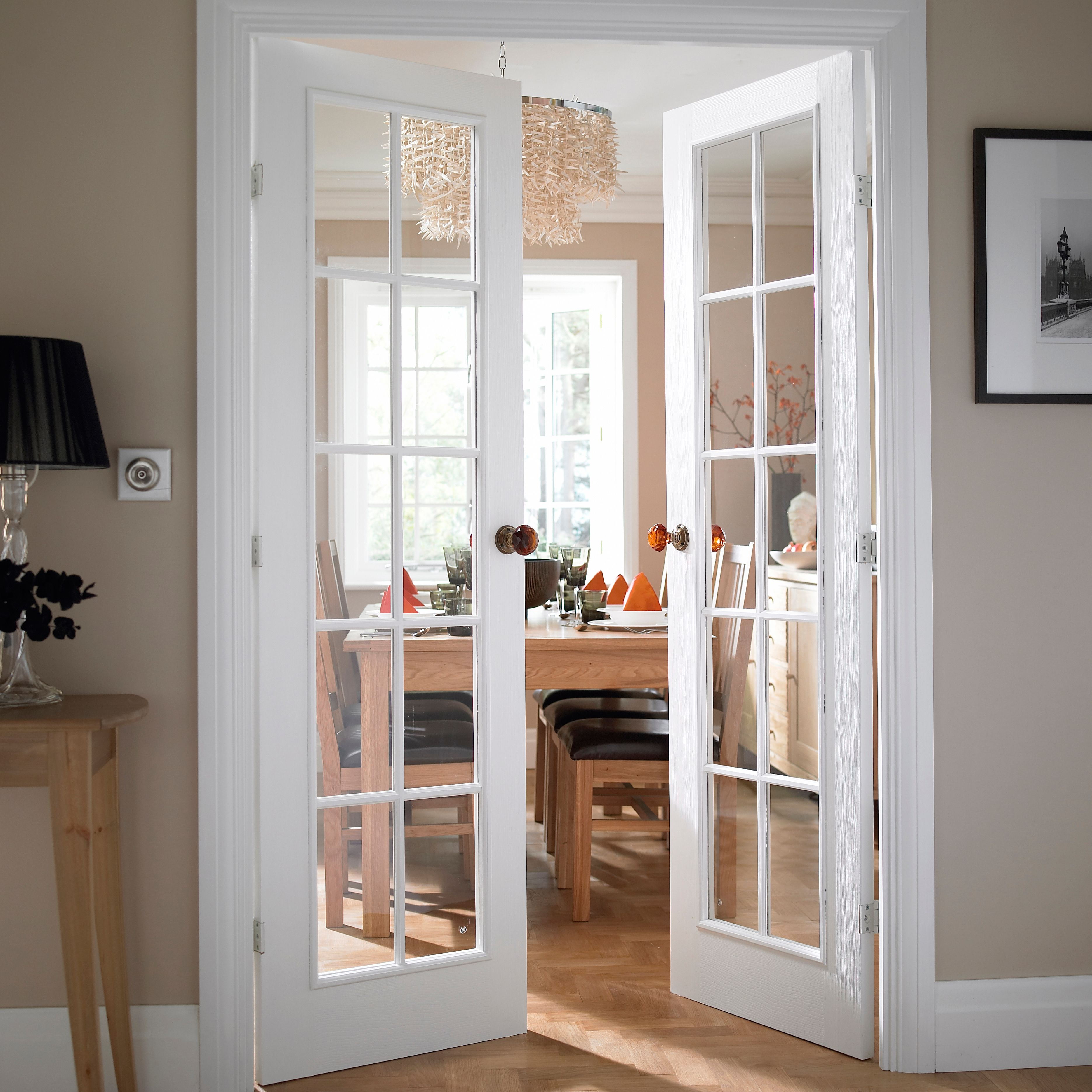 The incredible french interior doors b q photos interior exterior ideas for Interior double glass french doors