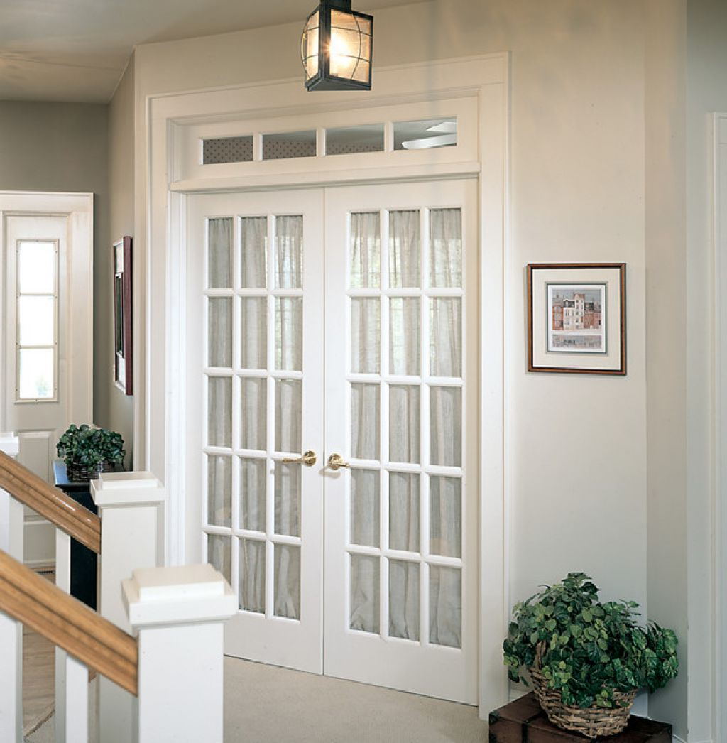 French doors interior frosted glass an ideal material for Interior exterior doors
