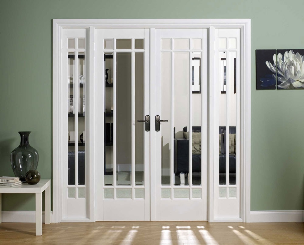 French doors interior frosted glass - an ideal material for use in ...