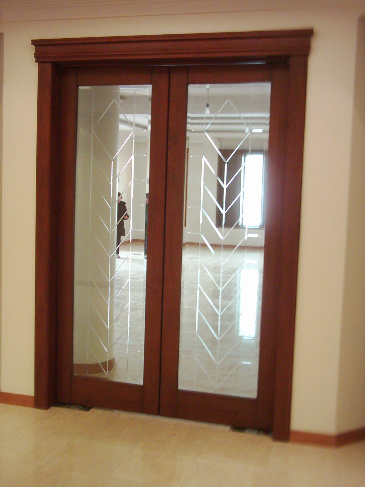 French doors interior frosted glass an ideal material for French door designs