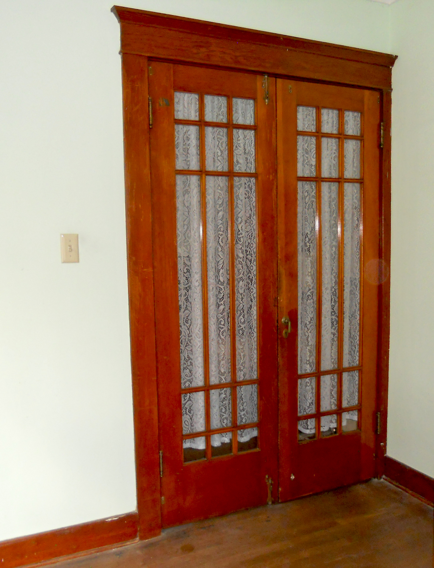 Closet French Doors : French doors interior frosted glass an ideal material