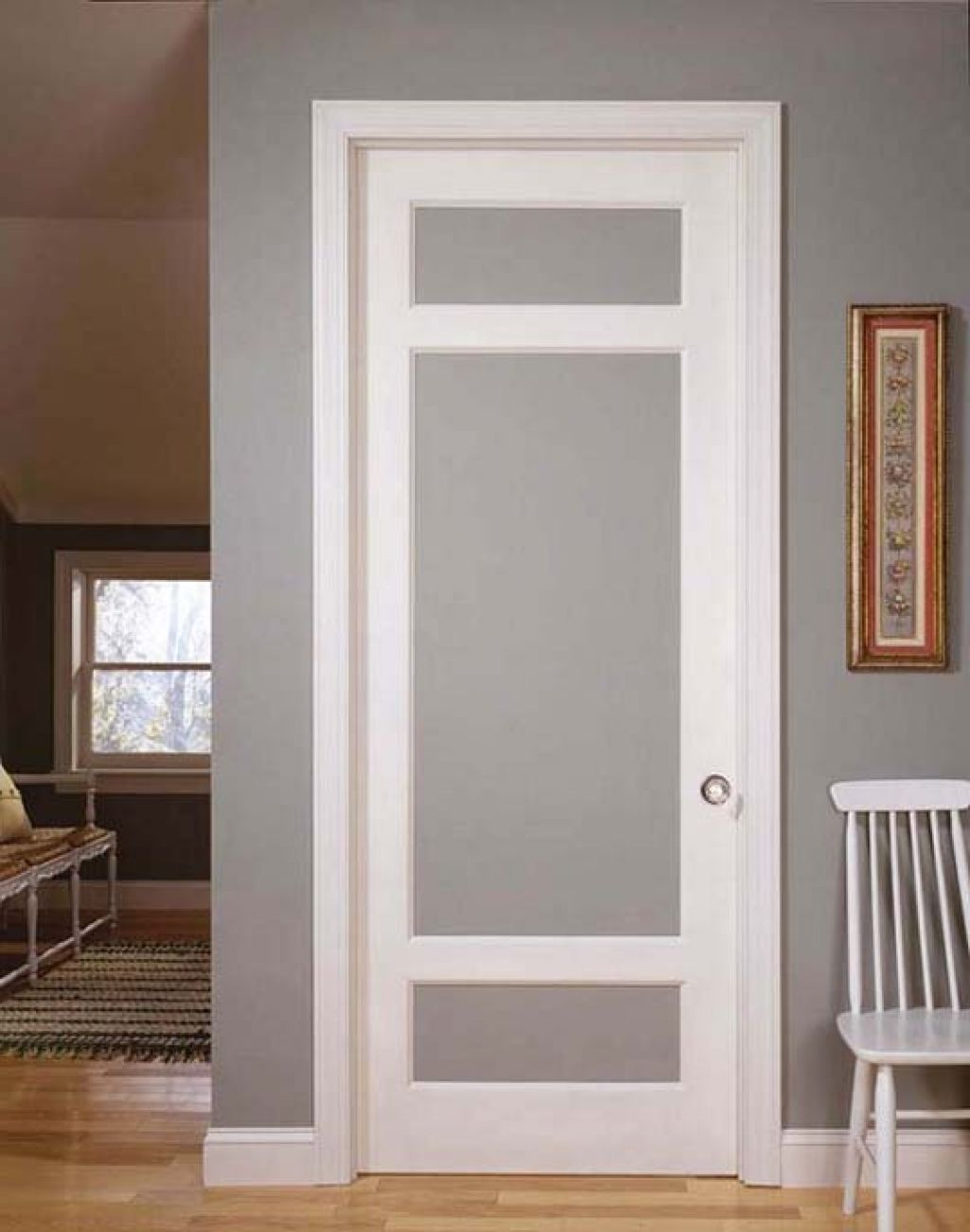French doors interior frosted glass an ideal material for use in any wardrobe door style Interior doors frosted glass