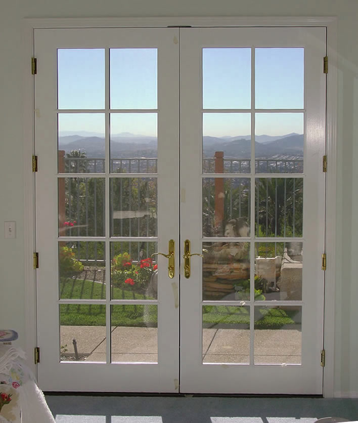 French double doors interior exterior doors for Interior french patio doors