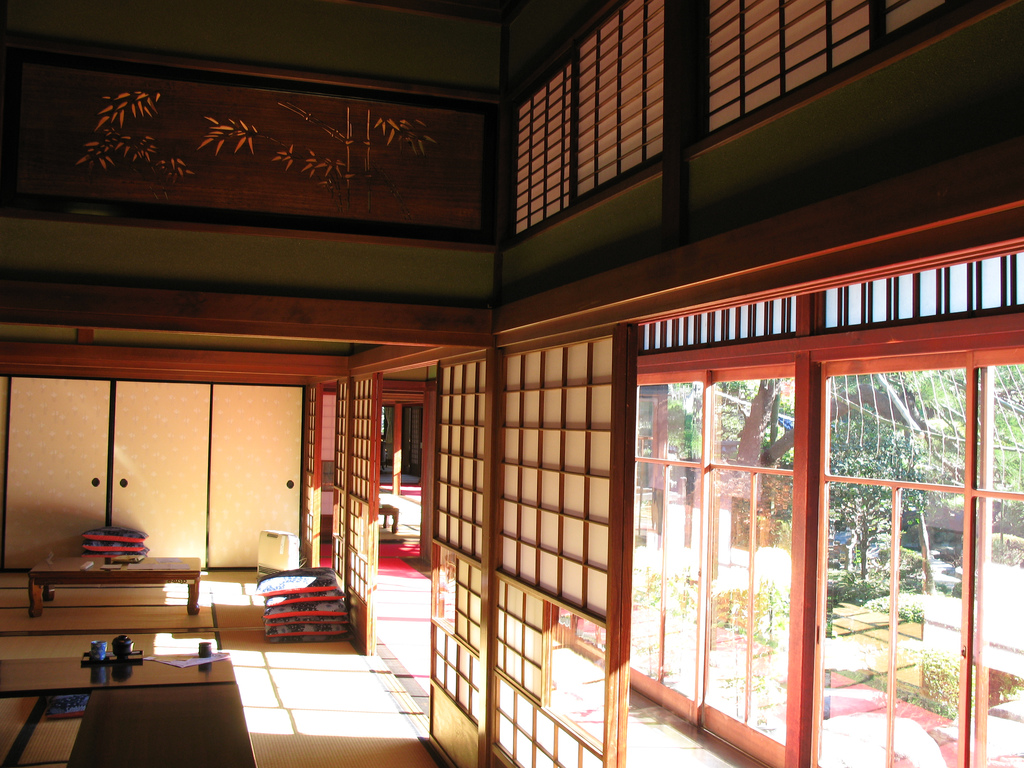 japanese style house interior interior exterior doors