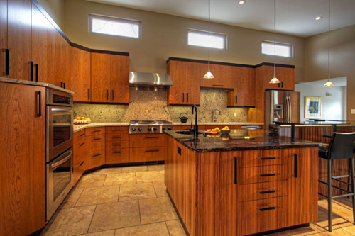 Improving kitchen designs with kitchen cabinet building for New kitchen color ideas