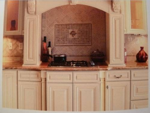 Kitchen cabinet door trim ideas