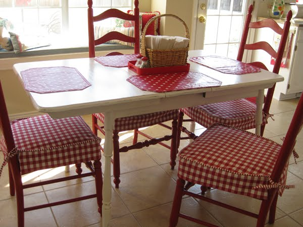 Kitchen chairs covers