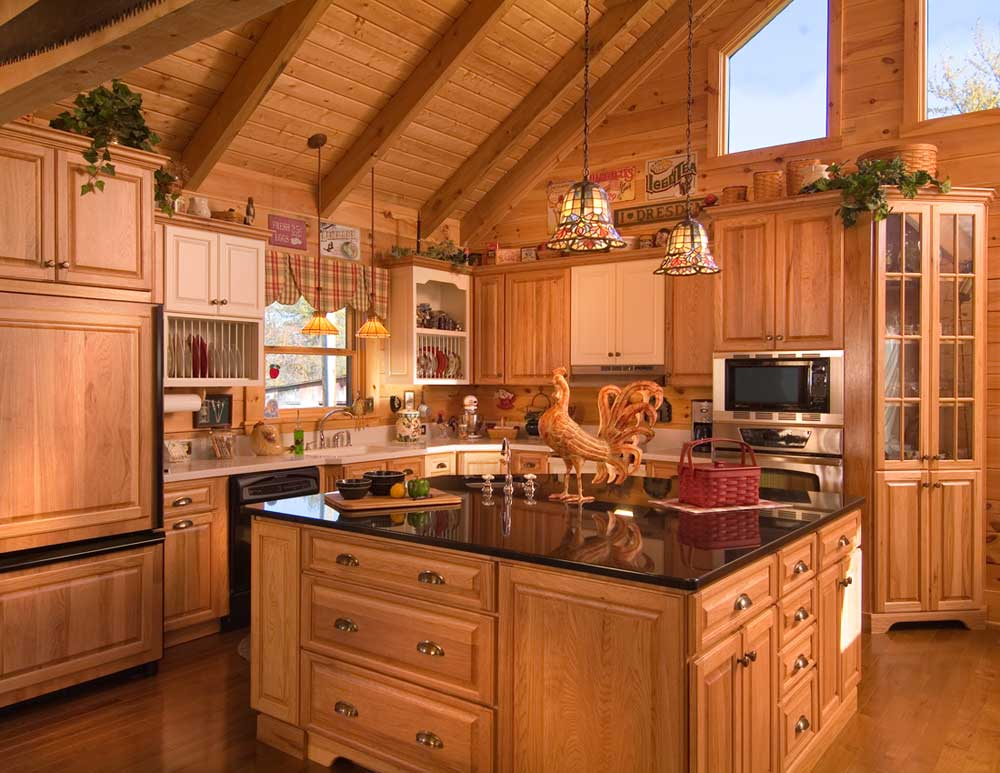 Kitchen design ideas for log homes – 15 things to undertake