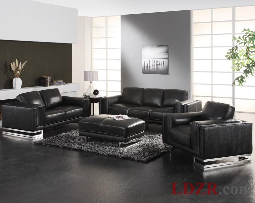 Living Room Designs Black Sofa Interior Exterior Doors