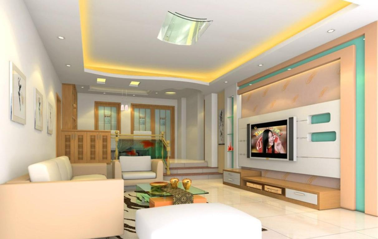 Top 21 living room lcd tv wall unit design ideas for Family room tv wall ideas