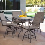 Outdoor bar height furniture sets – Latest fashion ideas to refine your house's outdoor
