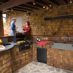 Outdoor kitchen lighting design Ideas that Bring Life to your Food and Home