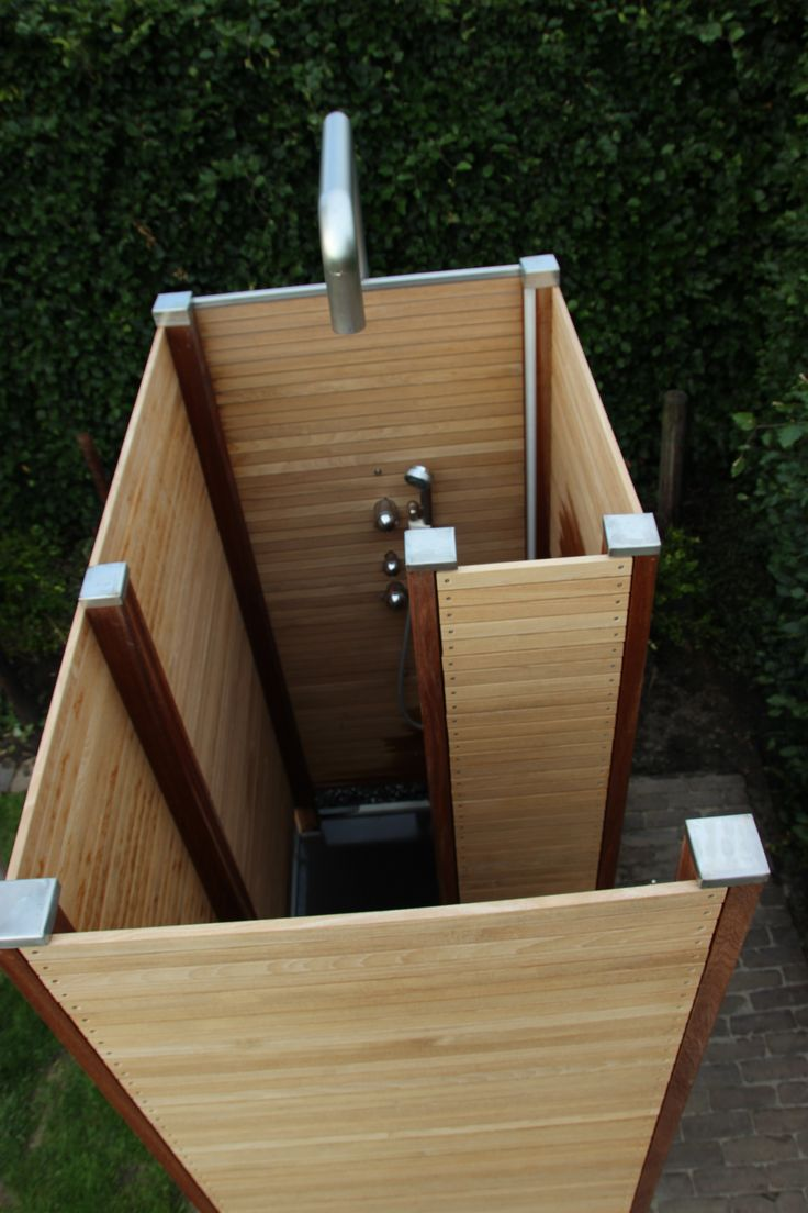 21 things to know abot outdoor shower drainage before installing interior exterior ideas. Black Bedroom Furniture Sets. Home Design Ideas