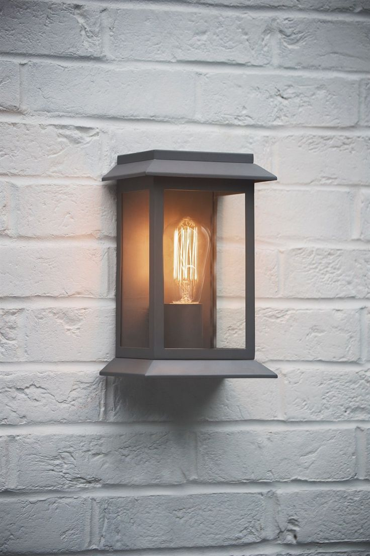 Impressive outdoor wall lights with built in outlet ideas for Exterior front door lights