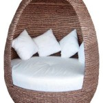 Outdoor wicker egg chair – bring an attractive and beautiful resting view at your premises