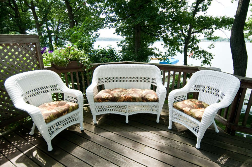 Wicker Patio Furniture For Small Spaces Small Space Patio Furniture Sets For Home Decor Ideas