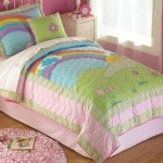Rainbow bedding for kids – inspire the mood of your room