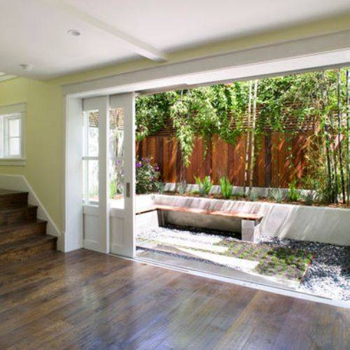 Sliding pocket doors exterior – 18 best options for homeowners with smaller homes