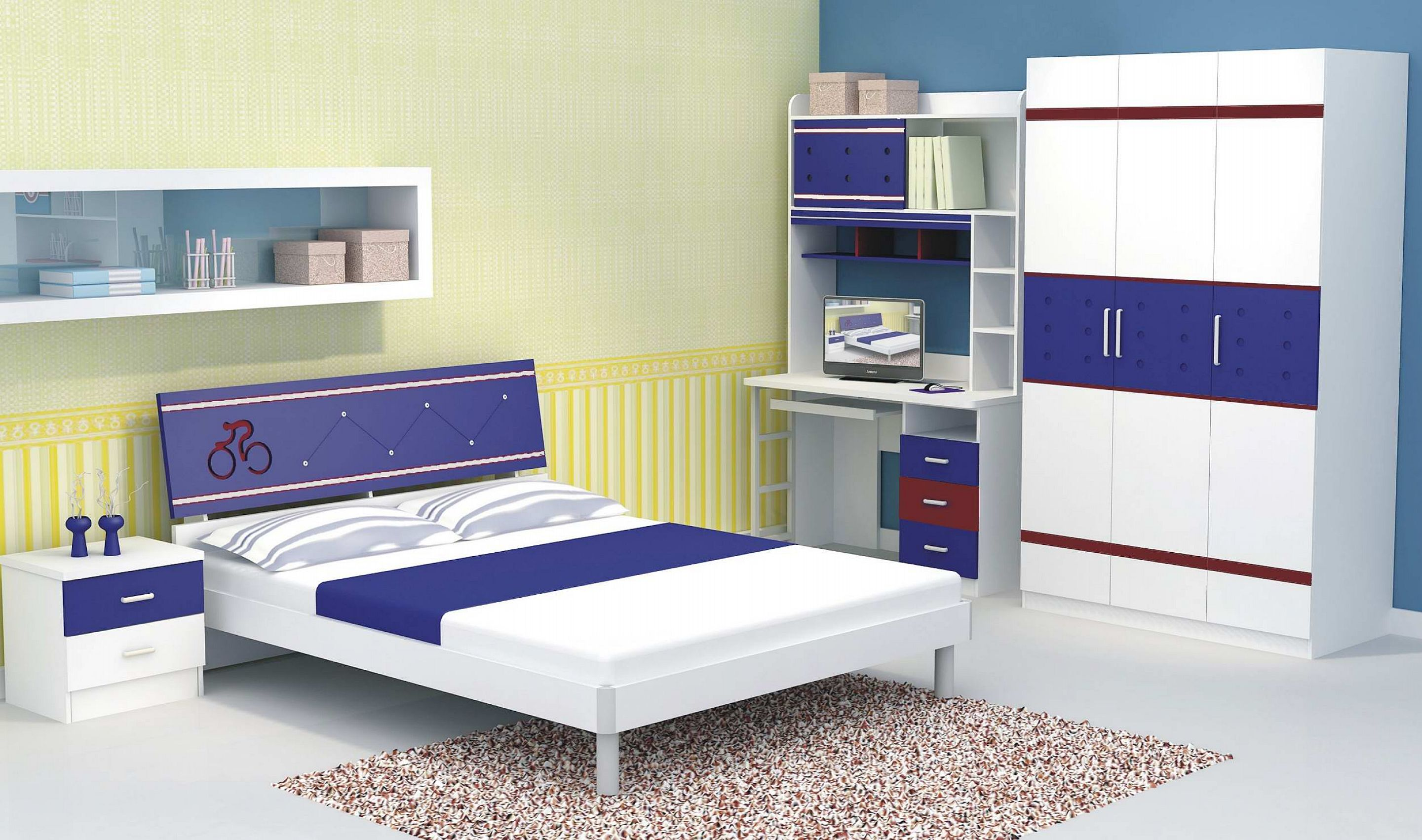 Solid wood bedroom furniture for kids 20 tips for best for Youth furniture