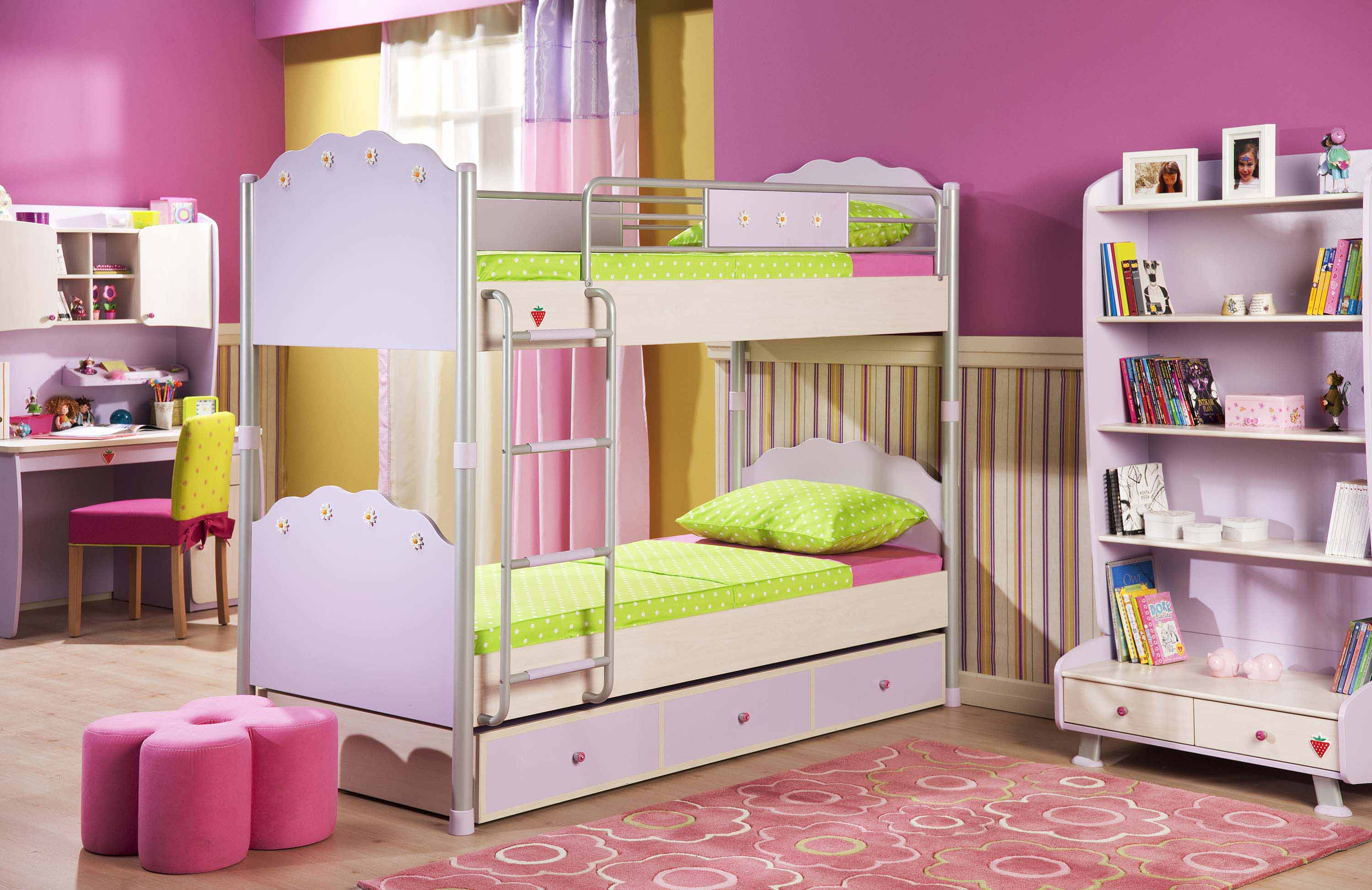 Solid wood bedroom furniture for kids 20 tips for best Best kids bedroom furniture