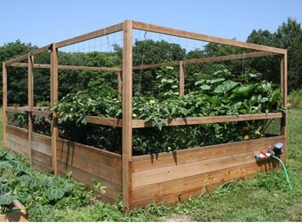 Vegetable garden fence kit interior amp exterior doors