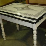 20 things to consider before buying Vintage kitchen table with enamel top
