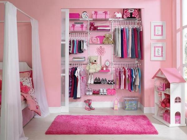 Walk in closet ideas for girls an uncluttered and for Wardrobe interior designs for girls