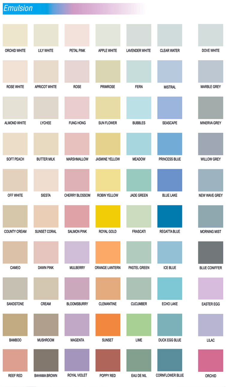 Wall Colour Shade Cards 20 Ways To Bright Dark Space In