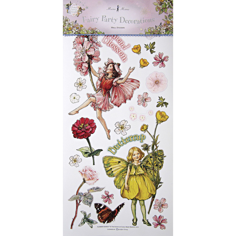 Wall stickers flower fairies can do magic to any wall