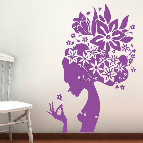 Wall stickers flowers