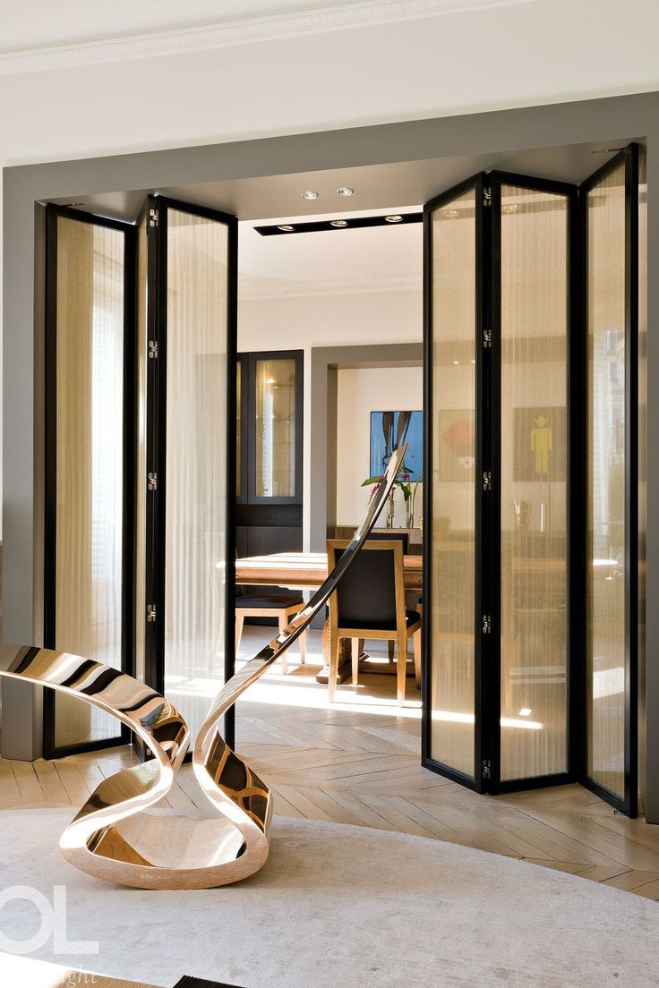 20 folding door design ideas interior exterior ideas for Interior folding doors
