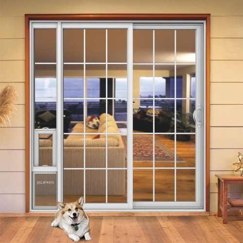 25 benefits of dog doors for sliding glass doors for Sliding glass door to french door