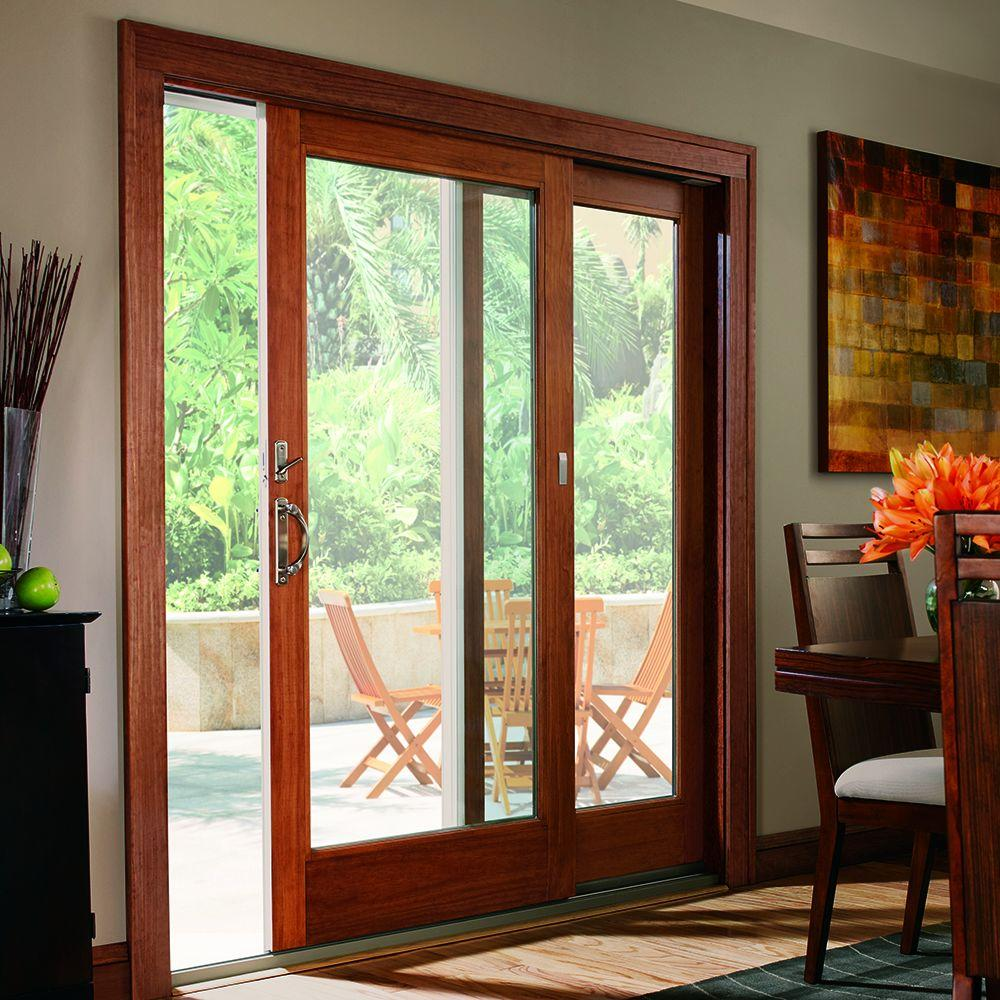 20 reasons to install french doors exterior andersen for Sliding door with glass
