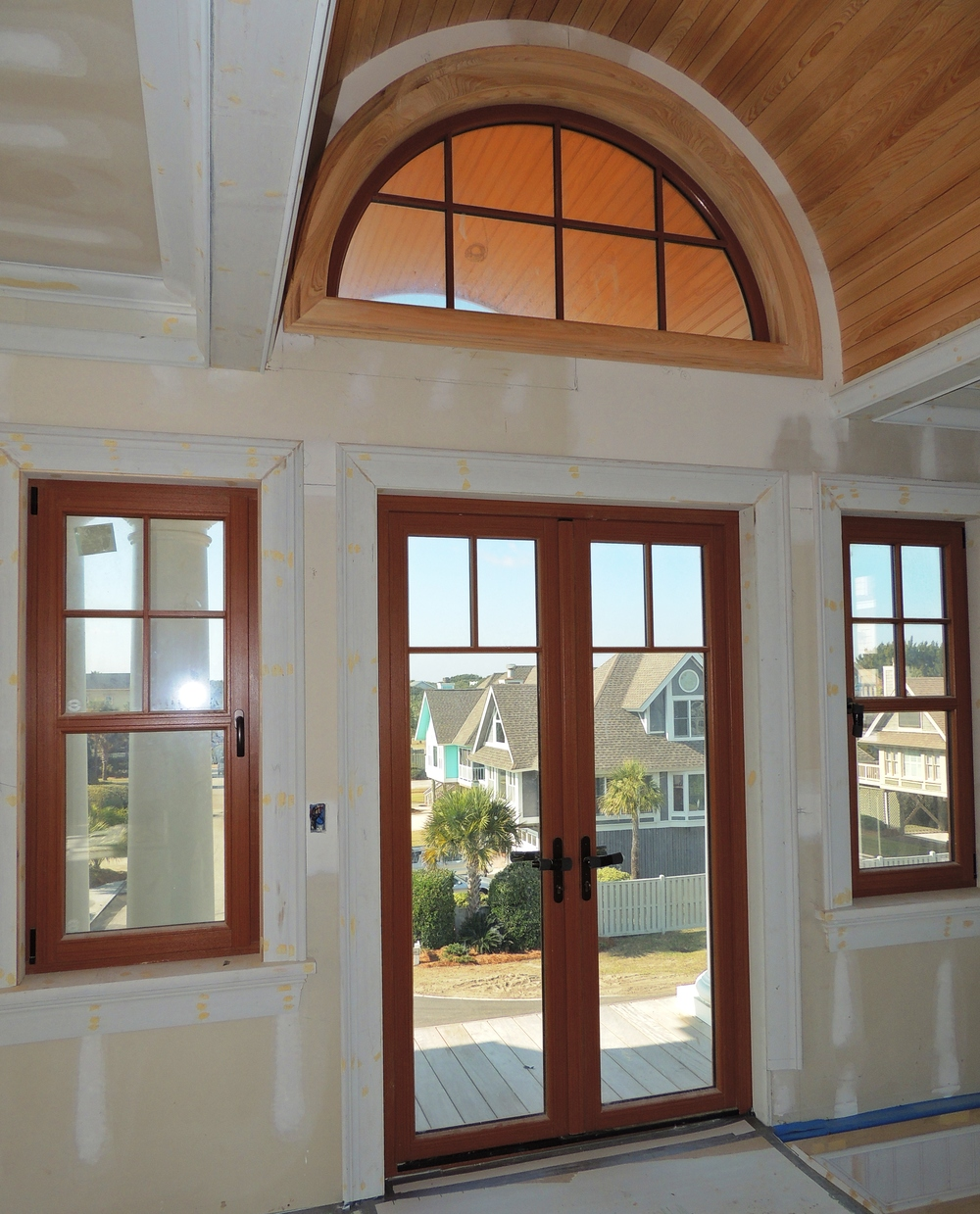 French doors exterior wood the image for French doors for front entry