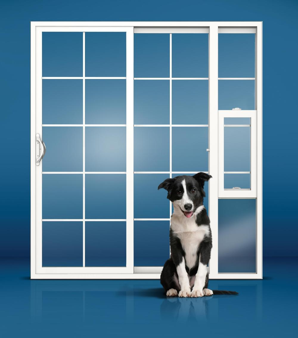 Dog Door For Sliding Door U2013 Comfort Your Pets In A Trendy Way
