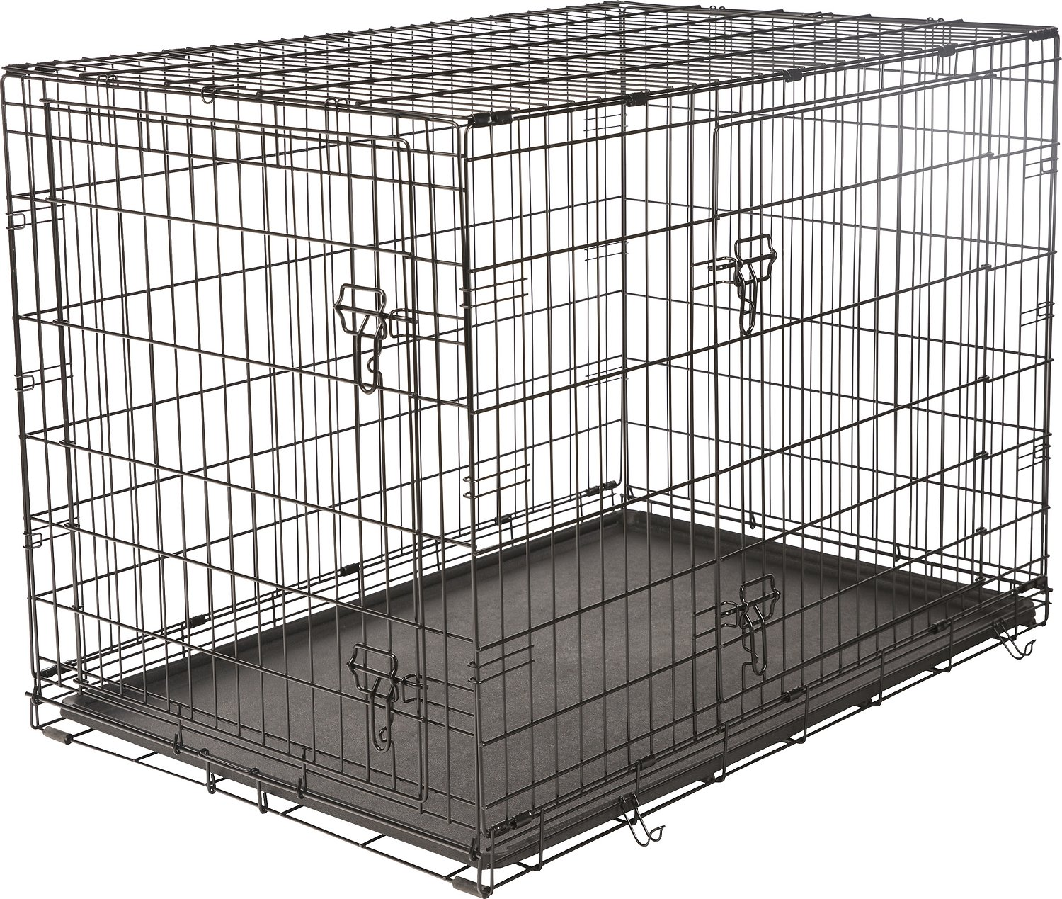 Double door dog crate floors doors interior design for Double door with dog door