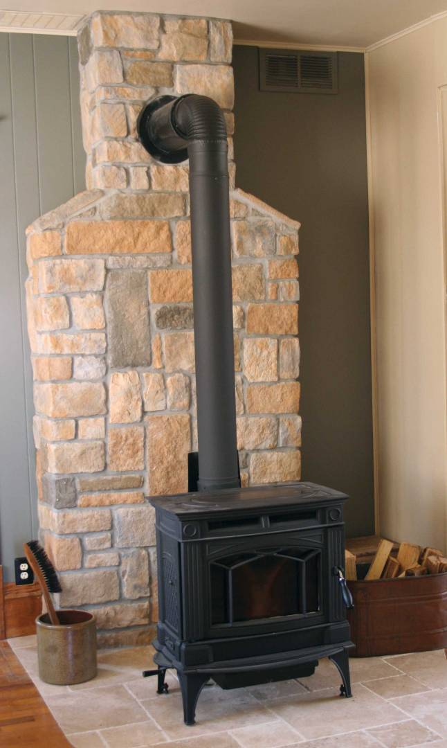 Best Wood Stove Wall Design Ideas For You Interior