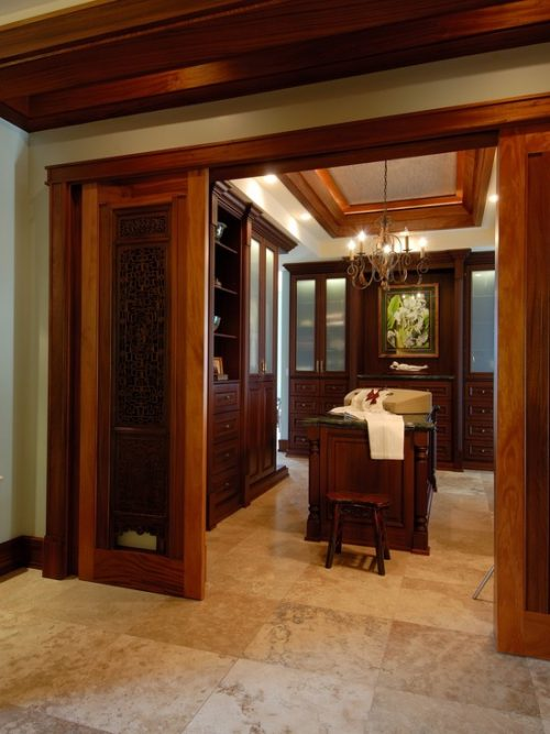 Walk in closet designs for a master bedroom a unique for Bedroom entrance door designs