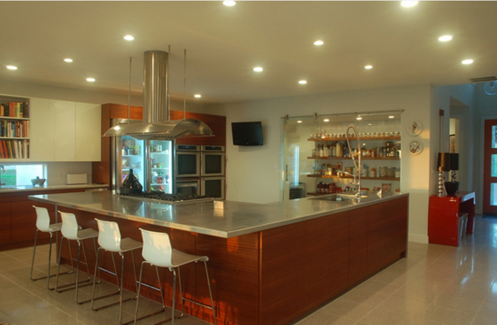 l shaped kitchen layouts with island - increasingly popular